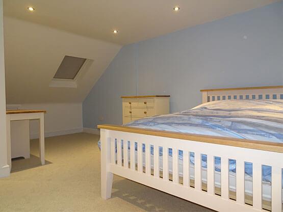 Loft5 Conversion Bedroom
