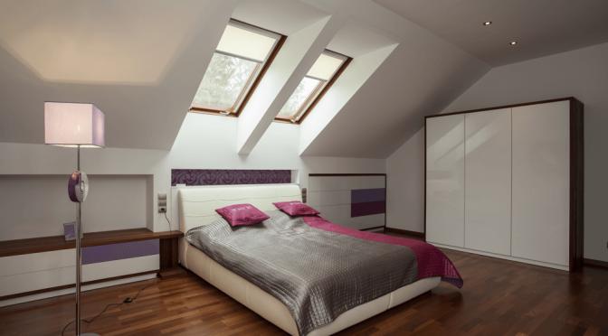 Velux Conversion Nice Bedroom