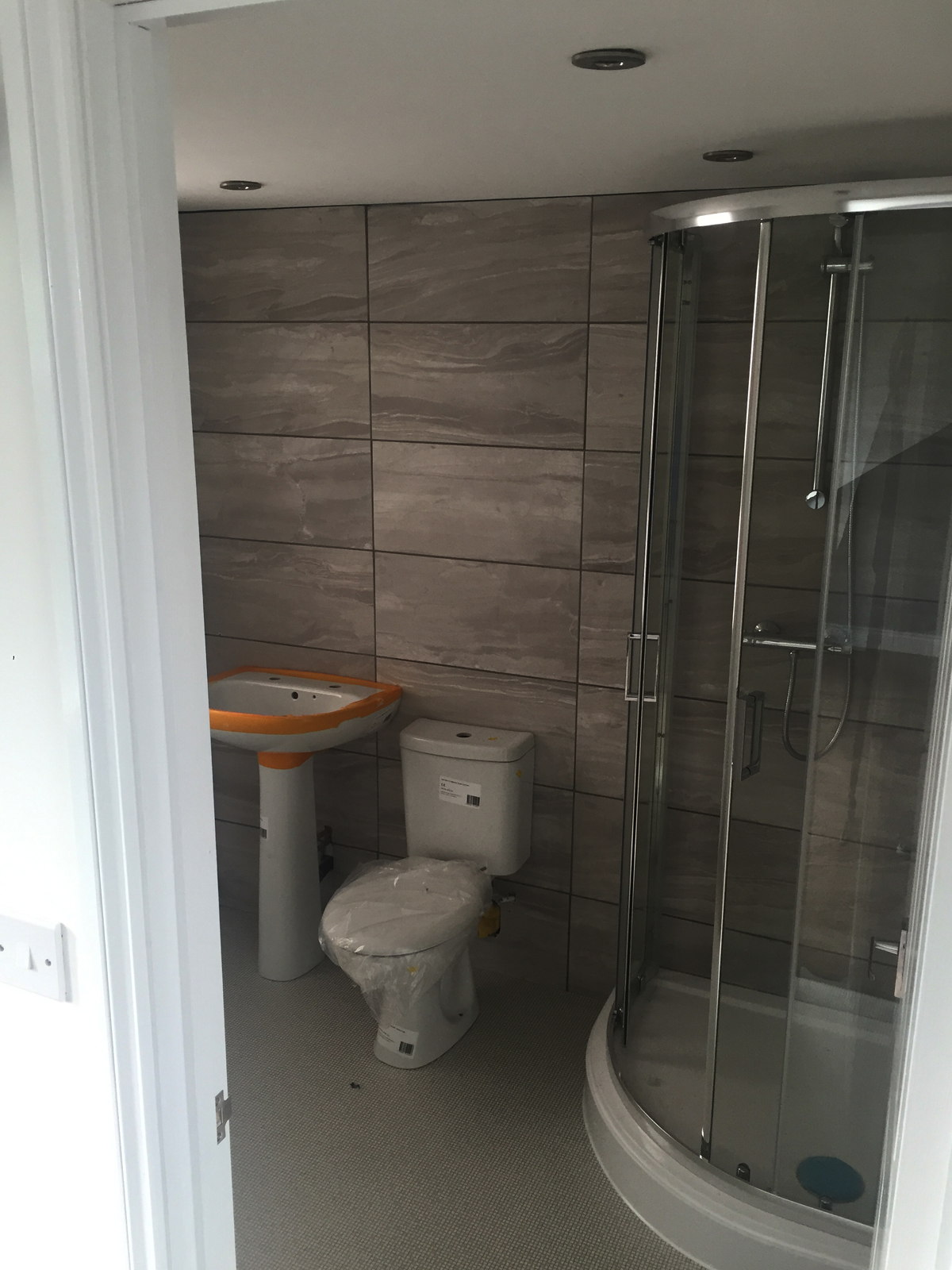 shower toilet in conversion dj lofts