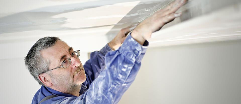 Man inspecting Loft