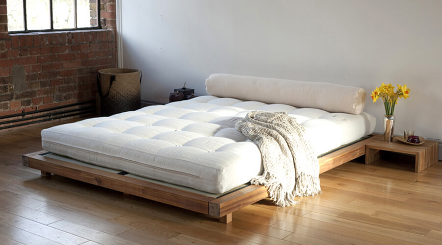 futon company kingsized platform bed