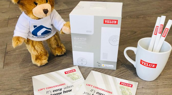 velux gifts and teddy bear