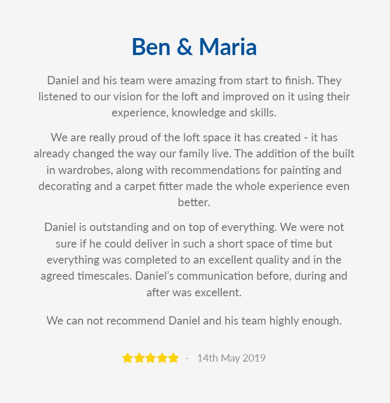 Ben & Maria Website