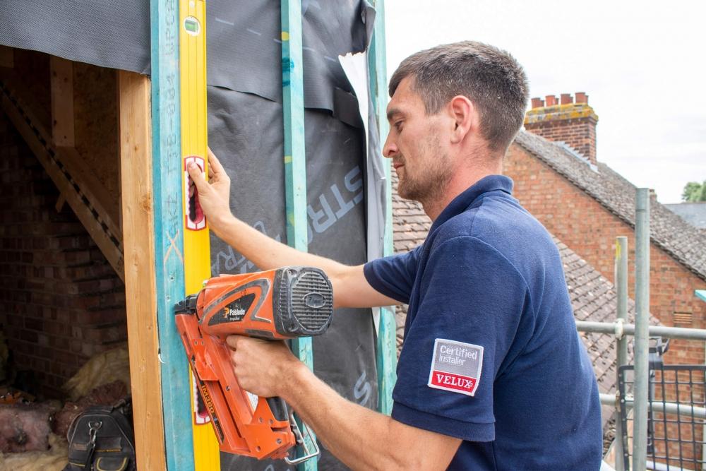 Loft Work Velux