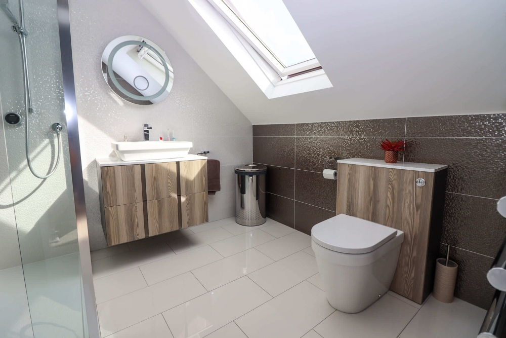 loft bathroom bedford