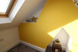 yellow wall interior min