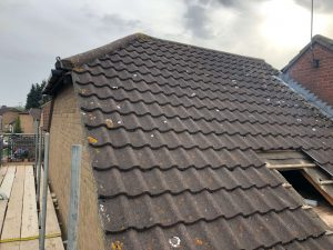 roof during conversion