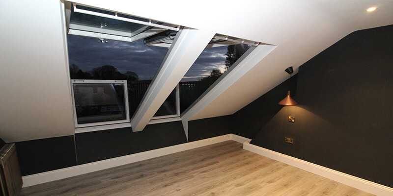 DJ Moore Lofts VELUX Windows