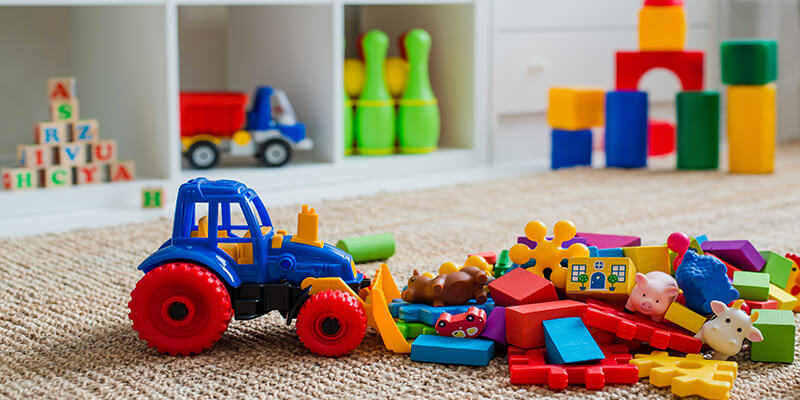 Toys In Playroom