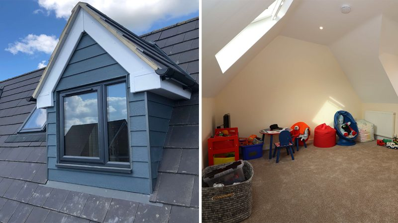 Pitched Roof Dormer Loft Conversion, Bedford