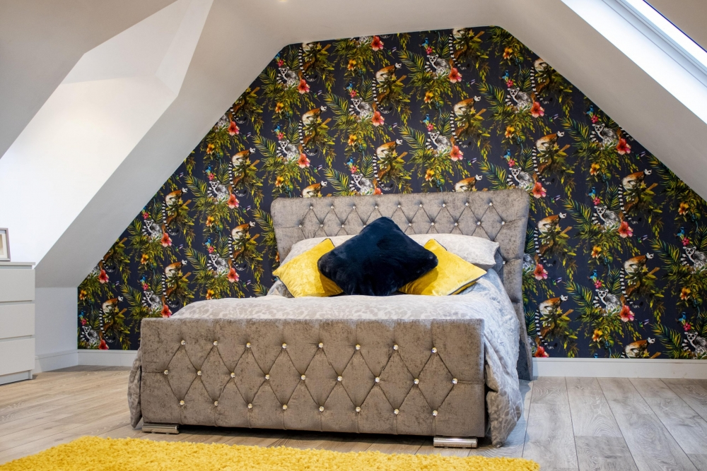 stunning new bedroom