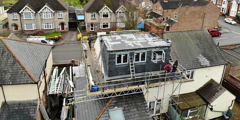 Rear Slate Dormer Loft Conversion, Bedford