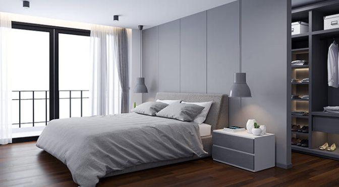 Grey Bedroom Design