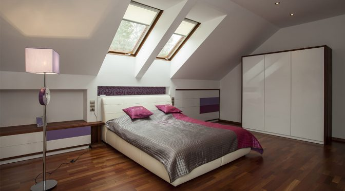 loft conversion roof bedroom 1