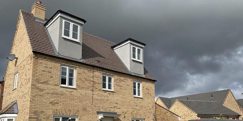 Flat Roof Dormer Loft Conversion, Bedford