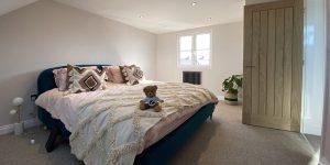 dormer master bedroom