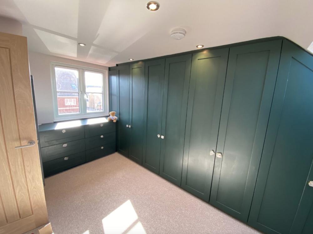 wardrobe and storage