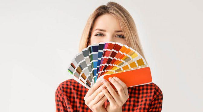 woman picking colour 1