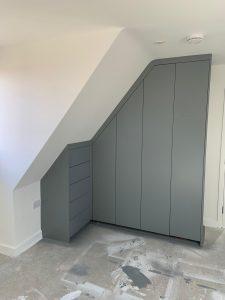 bespoke grey wardrobes