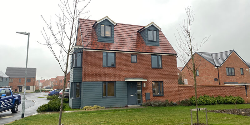 Pitched Roof Dormer Loft Conversion, Wootton