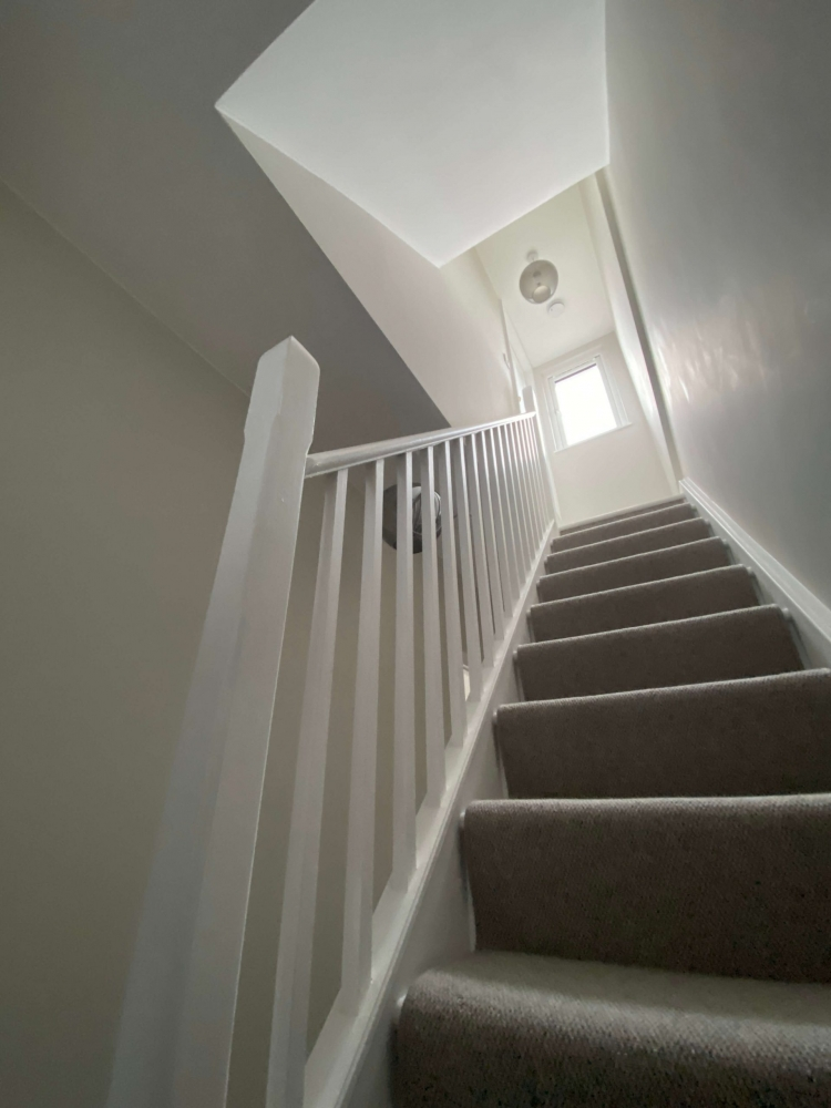 Staircase of loft converison in Bedford