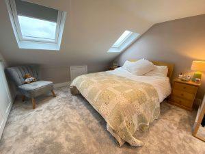 Finsihed loft conversion bedroom