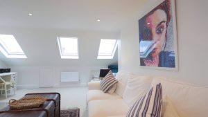 Completed dormer in Bedford