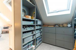 organised dressing room