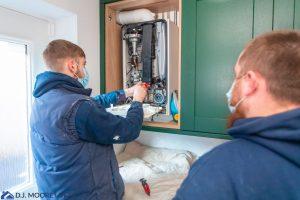new boiler refurb