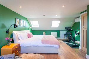 Exercise Corner In Bedroom