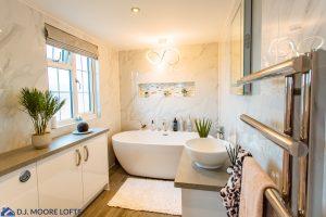 Bathroom in New Dormer