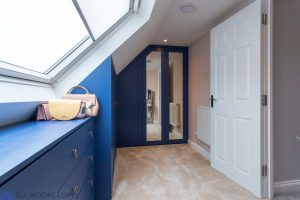 Blue Wardrobes in Conversion