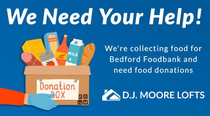 DJ Moore Food Bank Post